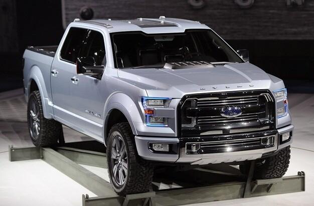 В Детройте концерн Ford показал будущее легендарных пикапов – концепт F 150 Atlas