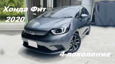 Обзор Honda Fit 2020
