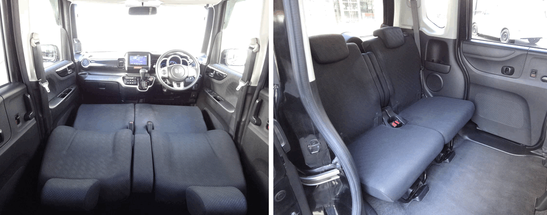 Интерьер Honda N-BOX 2015 года за 430 тысяч