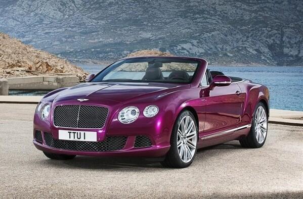 новые автомобили Bentley