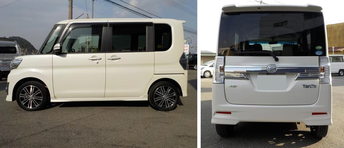 обзор кей-кара Daihatsu Tanto 2016
