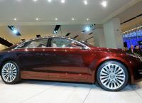 новые автомобили Lincoln
