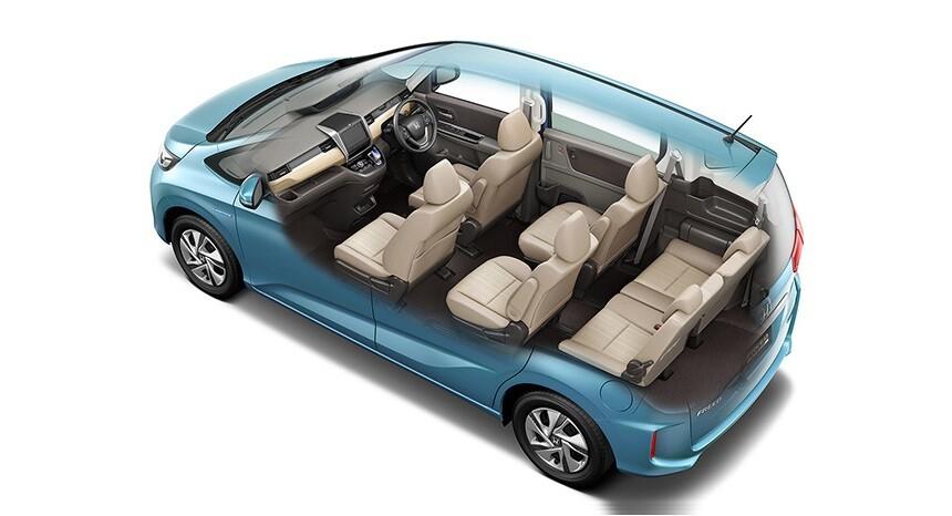 Новый Honda Freed 2 поколения