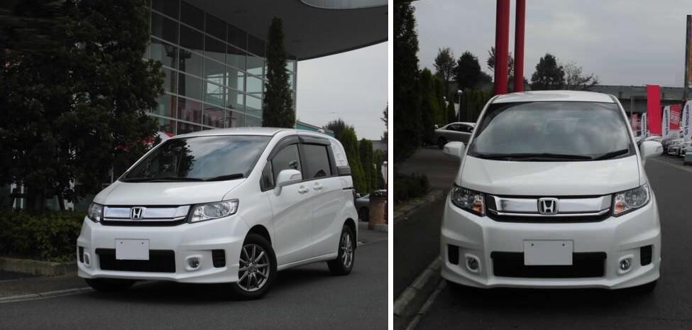 хонда фрид спайк 2015