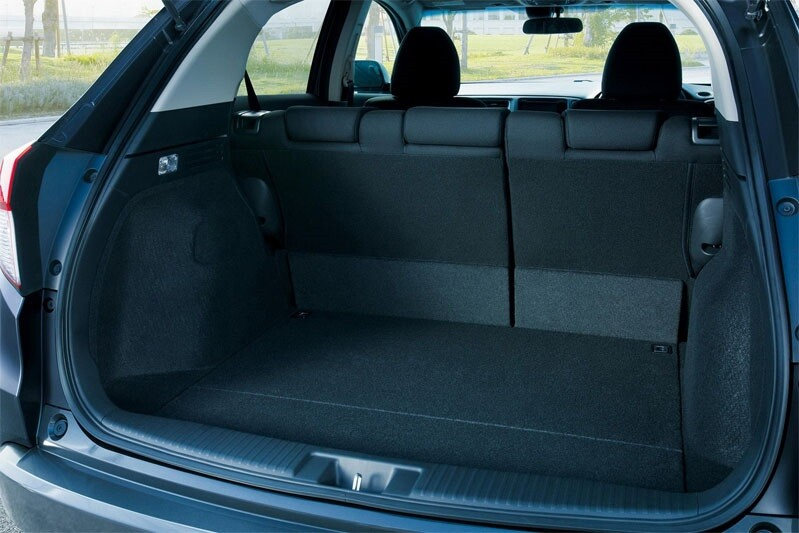 Объем багажника Хонда Везел