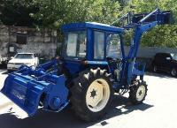 японские трактора