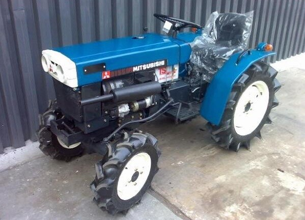 Японские мини тракторы