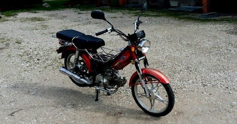 LIFAN LF50Q-2 популярный мопед