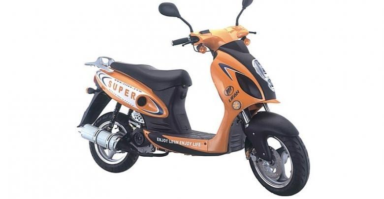 LIFAN ZID LF50QT-8A: одноместный дорожный скутер