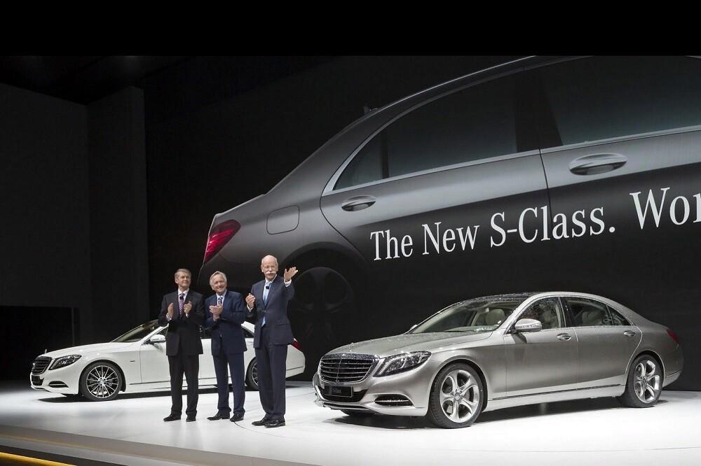 в Гамбурге: представлен Mercedes S-class W222, 15.05.2013