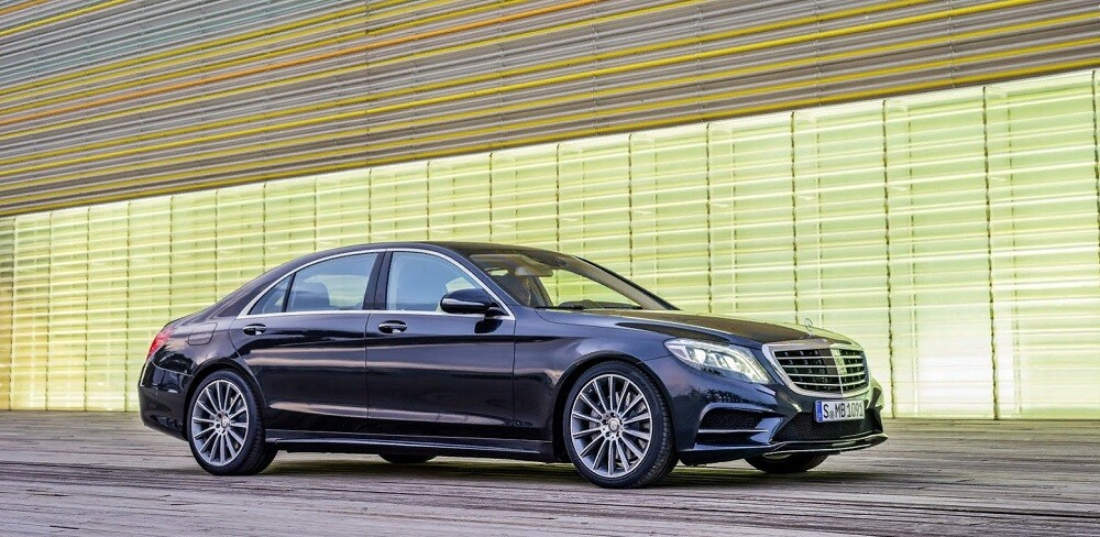 Новинка Mercedes S-class W222