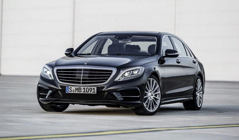 Mercedes S-class W222 новости из Гамбурга