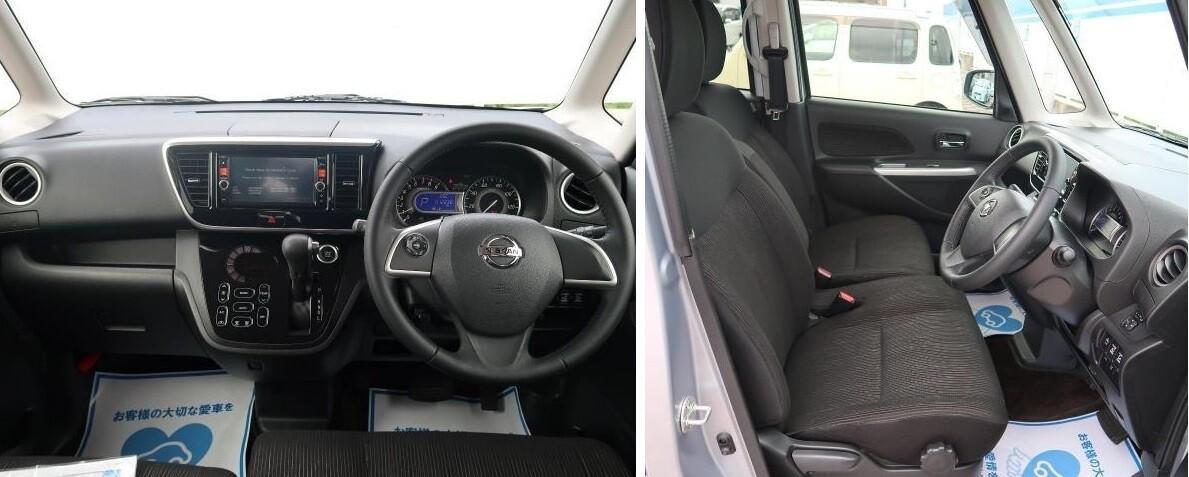 Интерьер Nissan DAYZ Roox