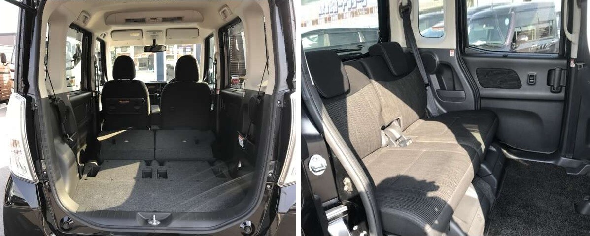 Nissan DAYZ Roox 2016 интерьер