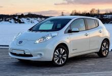 Обзор Nissan Leaf 1 поколение