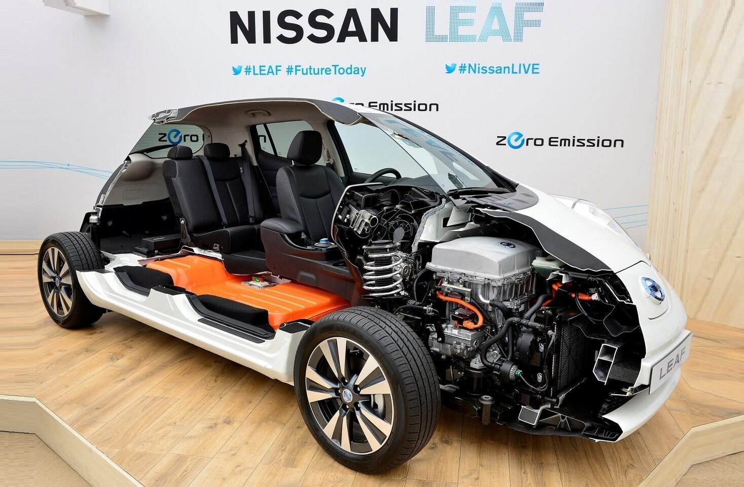 Nissan Leaf обзор электроавтомобиля