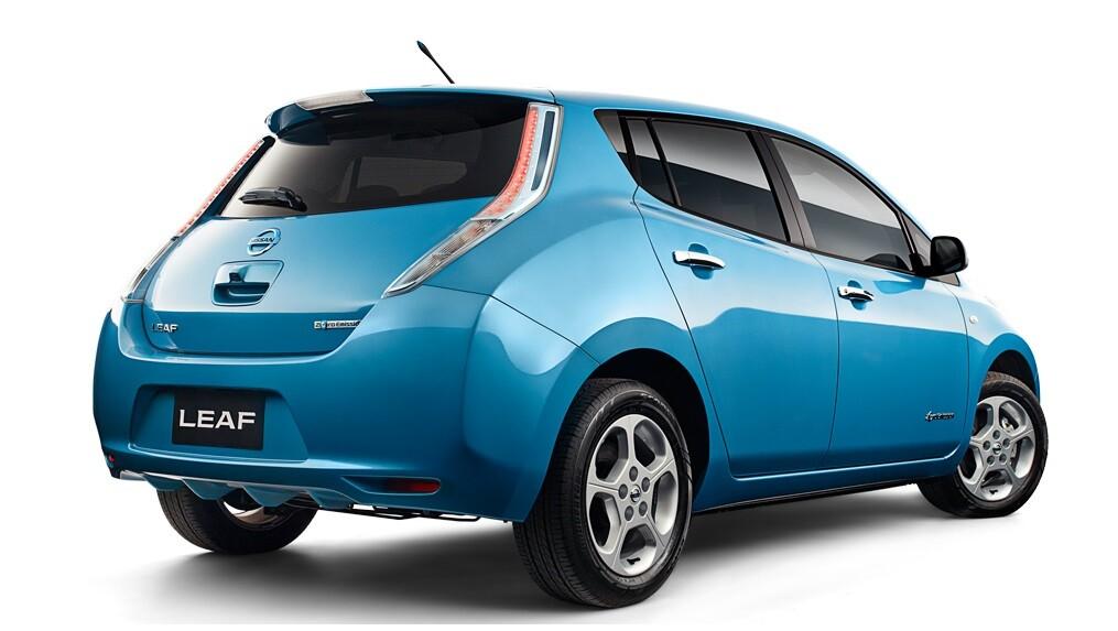 Кузов Nissan Leaf 1