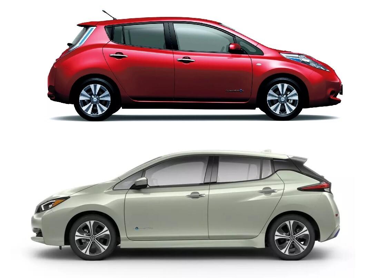 Nissan Leaf 1 и 2 поколение