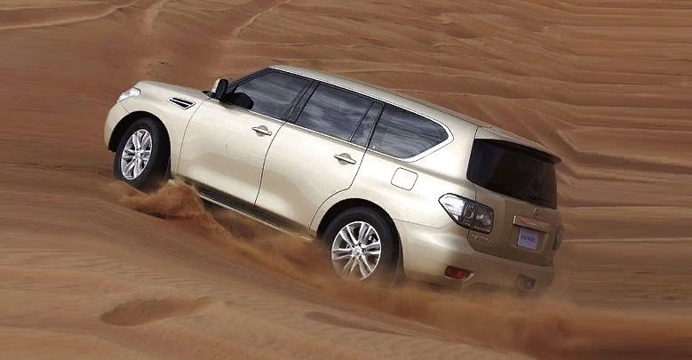 Nissan Patrol представил в России..
