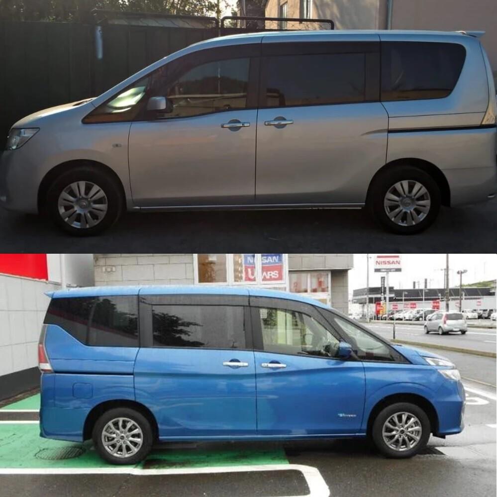 Nissan Serena 4 и 5 поколения