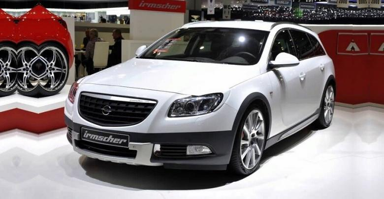 Opel Insignia Cross 4