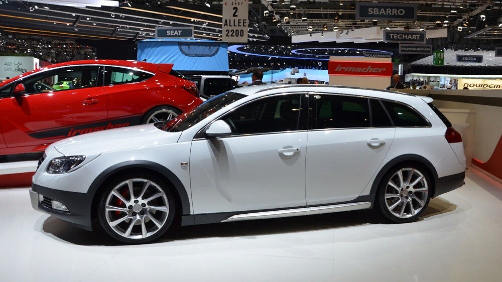 Irmscher Opel Insignia Sports Tourer Cross 4 2012-2013