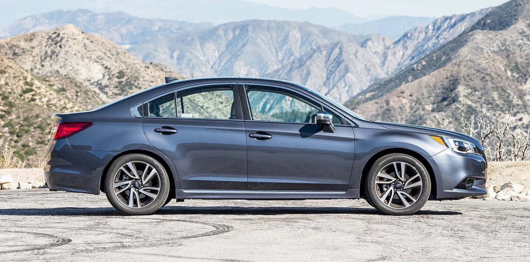 Subaru Legacy шестой генерации