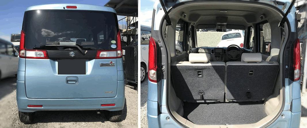 кей-кар Suzuki Spacia 2015 год