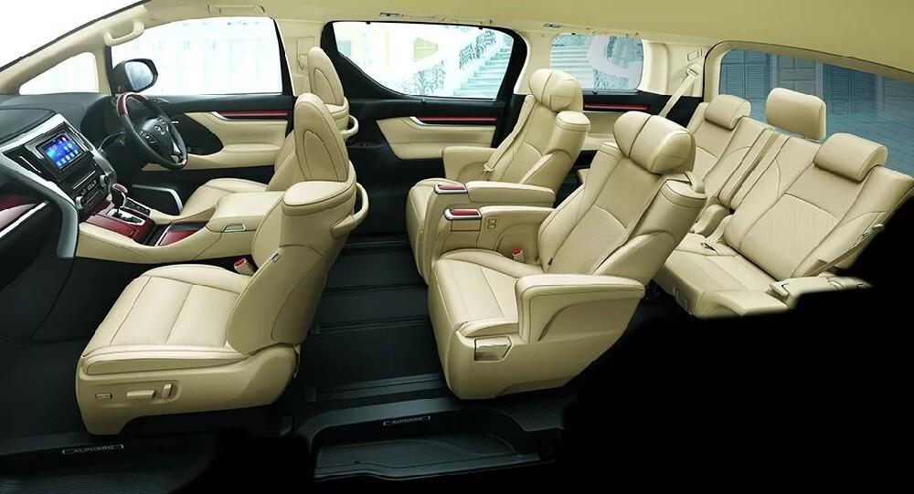 Toyota Alphard 3 поколения имеет 3 основных вида комплектаций