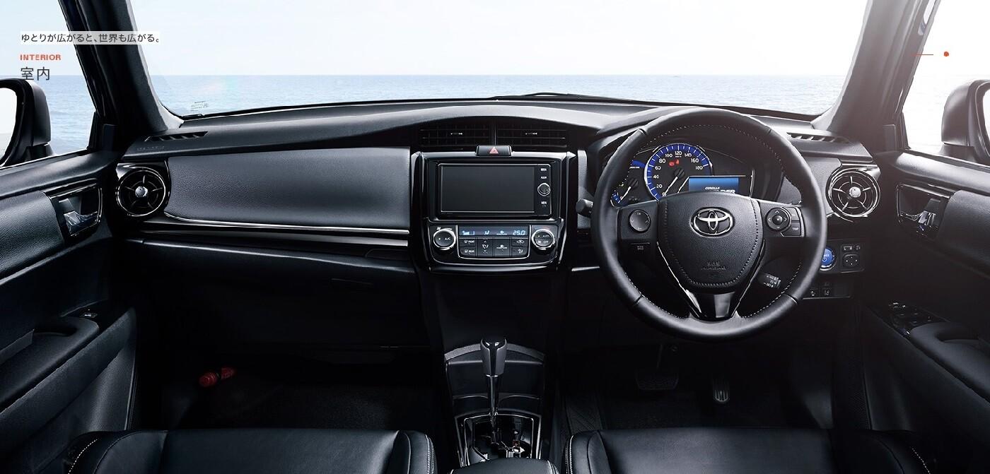 Интерьер Toyota Corolla Fielder