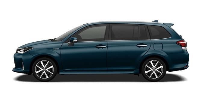 Новая Toyota Corolla Fielder