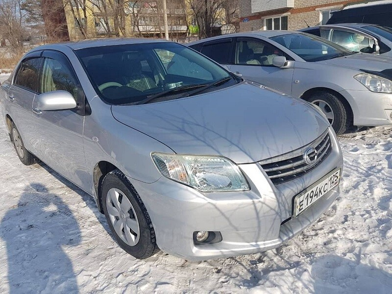Угнан Toyota Corolla Axio Приморский край