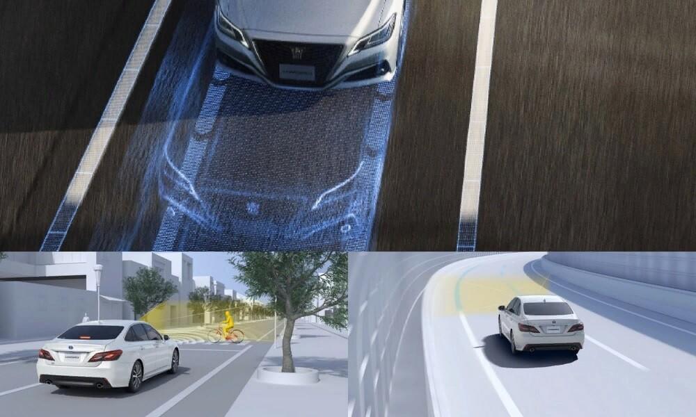 Системы безопасности Тойоты Краун