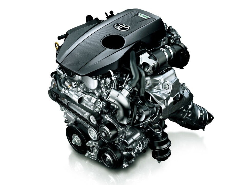 Турбированный бензиновый двигатель, модификации 8AR-FTS