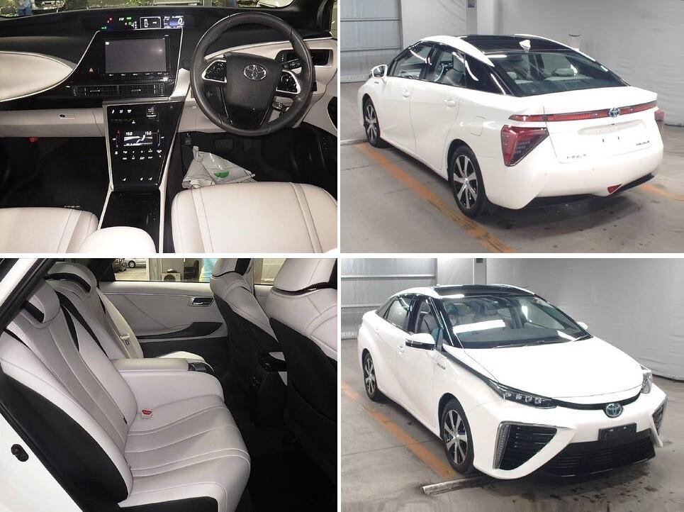 Toyota Mirai на аукционе в Японии