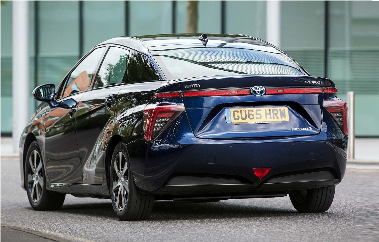 Toyota Mirai клиренс