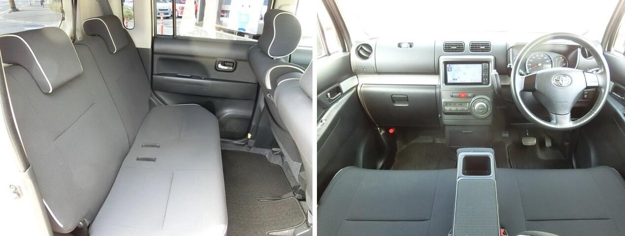 интерьер Toyota Pixis Space