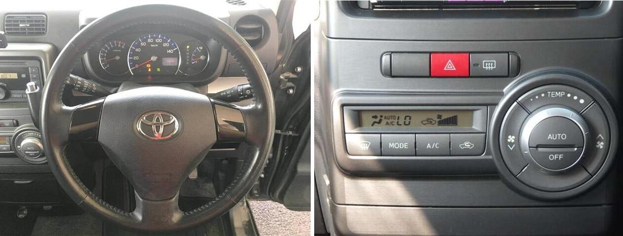 Праворульный кей-кар Toyota Pixis Space (2016)