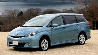 Обновлённая Toyota Wish