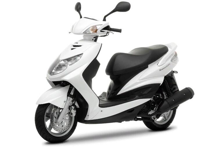 Японский скутер 125 кубов