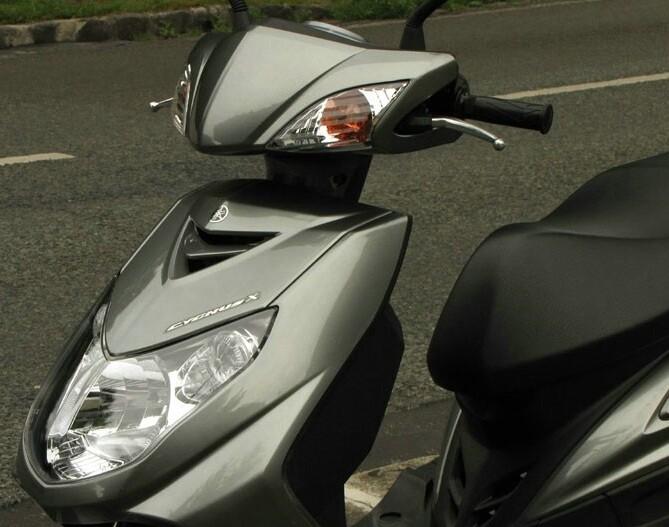Обзор скутеров Yamaha Cygnus X 125