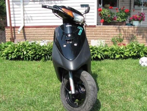 Обзор скутеров Yamaha Jog Z