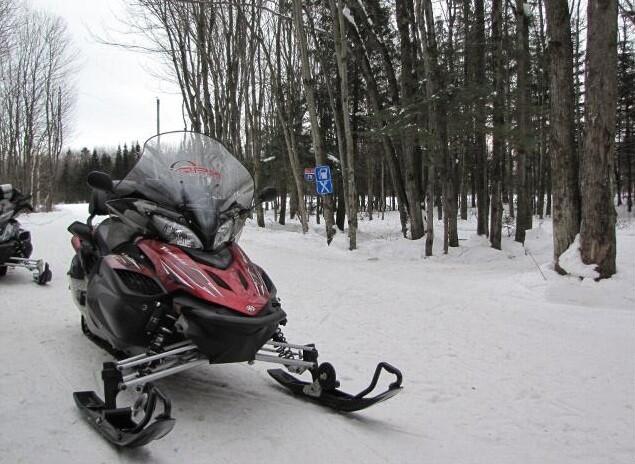 снегоход Yamaha