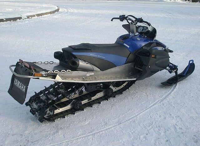 обзор снегохода RX-1