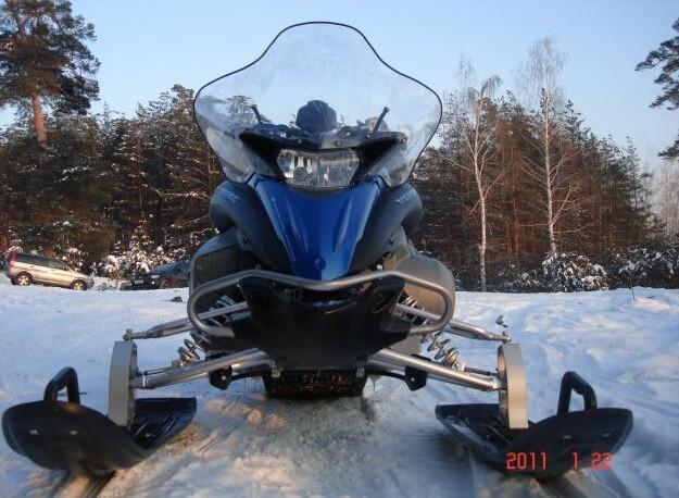 ходовая часть снегохода