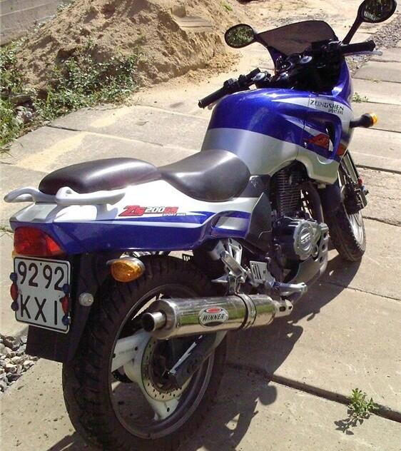 Китайские мотоциклы Zongshen ZS200GS и ZS250GS