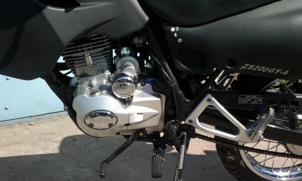 Zongshen ZS200GY-A двух местный мотоцикл