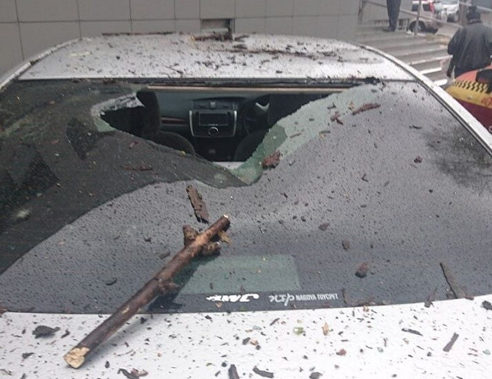 Майский циклон 2018 года валил деревья, затопил улицы города!