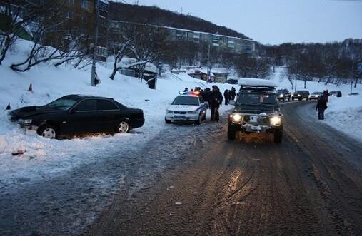 авто происшествие в Петропавловске-Камчатском