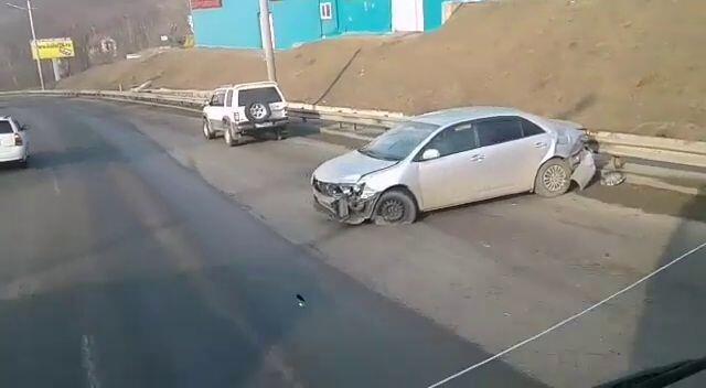 ДТП Toyota Allion. Владивосток